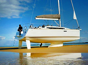 Advanced sailing & Dry-out on the Sands